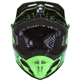 ONeal Fury RL Helmet Crawler-black/green